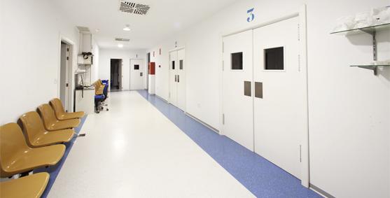 zona quirúrgica Clínica VISTA Sánchez Trancón Badajoz