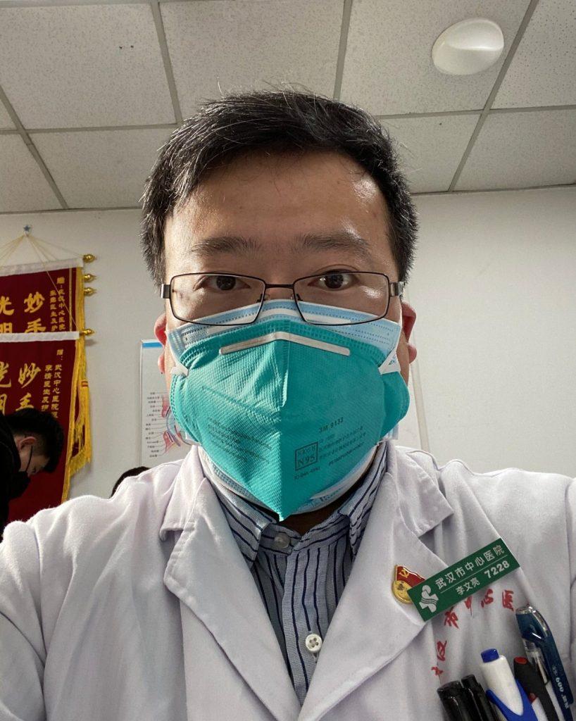 Dr. Li Wenliang fue el médico oftalmólogo que trató de advertir al mundo del brote de coronavirus