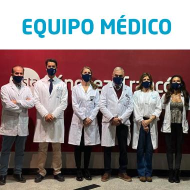 Equipo médico VISTA Sánchez Trancón